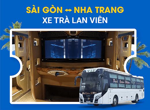 Đặt vé xe đi Nha Trang với các nhà xe Trà Lan Viên 3 chuẩn của VeXeRe