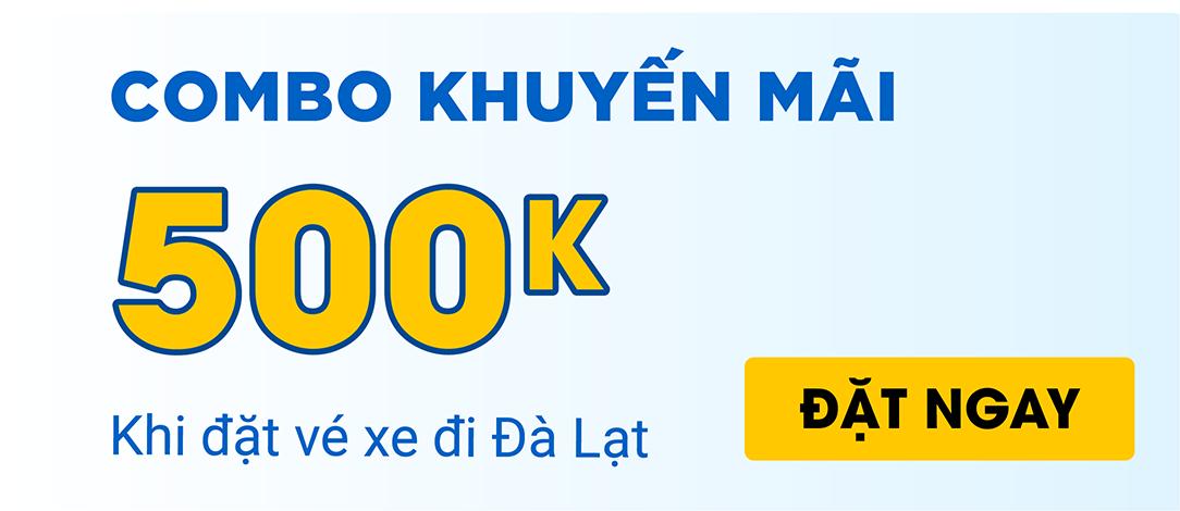 Đặt vé xe đi Đà Lạt tại VeXeRe, nhận ngay ưu đãi 500k 6