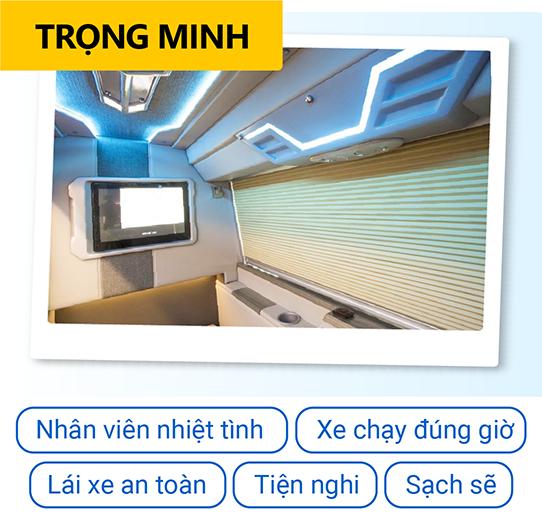 Đặt vé xe đi Đà Lạt tại VeXeRe, nhận ngay ưu đãi 500k, đặt xe Trọng Minh xịn giá tốt 2