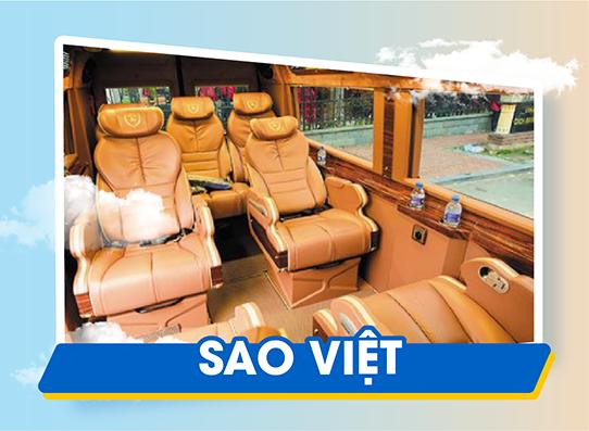 Chắc vé trong tay đi sapa ngay với xe Sao Việt