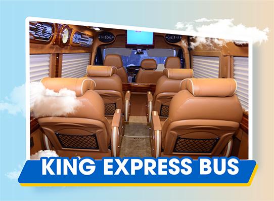 Chắc vé trong tay đi sapa ngay với xe King Express Bus